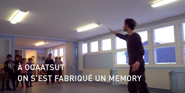 vidéo sur la création du Memory sur YouTube